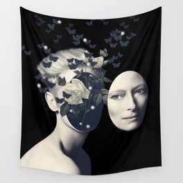 We Only Come Out at Night Wall Tapestry