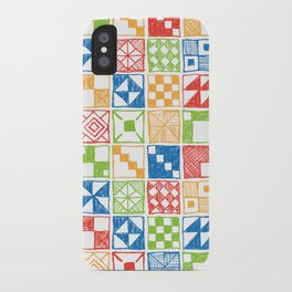 Square of Squares iPhone Case