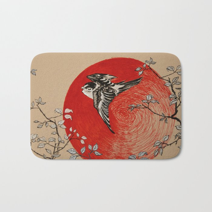 Japan Bird Bath Mat