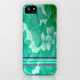 FLOral art A iPhone Case