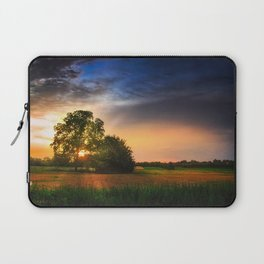 Two trees in the field Laptop Sleeve