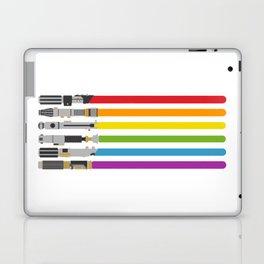 Lightsaber rainbow Laptop & iPad Skin