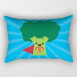 Super Broccoli Rectangular Pillow
