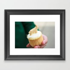 Hold On | Sweet Catch Framed Art Print