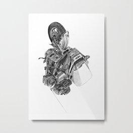 Suzuki Cavalcade Metal Print