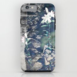 Lonely flower iPhone Case
