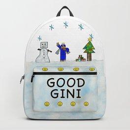 Good Gini ugly Christmas sweater Backpack