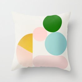 Abstraction_Minimal_Shapes_001 Throw Pillow