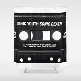 Sonic Youth Sonic Death Shower Curtain