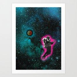 Cosmic Patrol Art Print