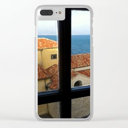 Picasso's Studio View - Antibes Clear iPhone Case