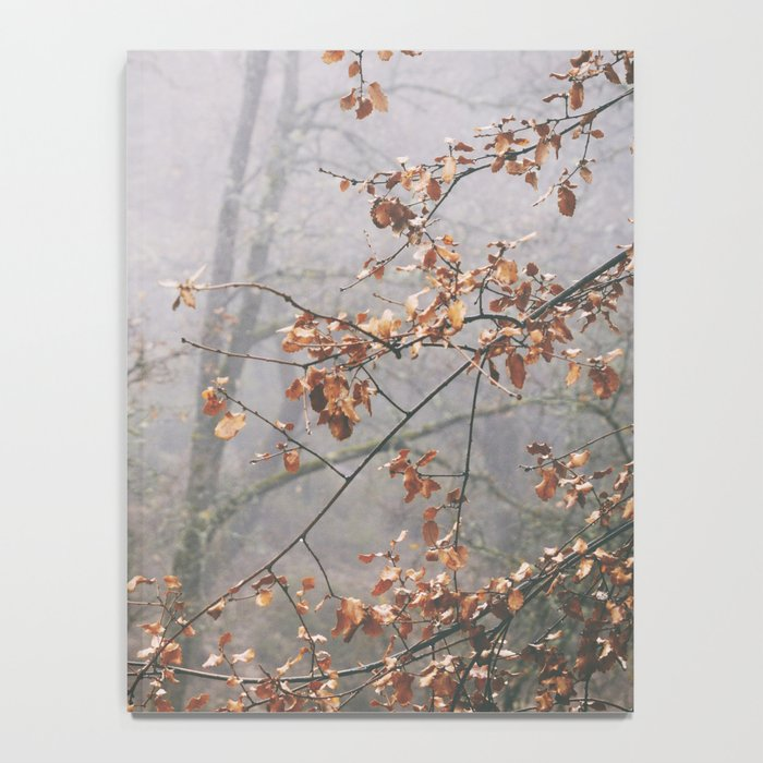 """""""Into the woods VII"""". Wandering into the fog Notebook"""
