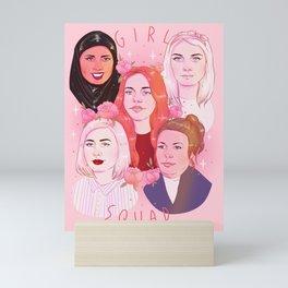 GIRL SQUAD Mini Art Print