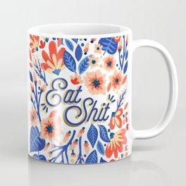 Eat Sh*t – Coral & White Palette Coffee Mug