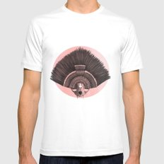 ::headdress:: MEDIUM White Mens Fitted Tee