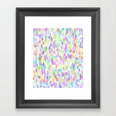 Pastell Pattern Framed Art Print