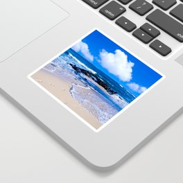 Hawaiian beach2 Sticker