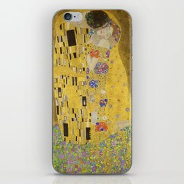 The Kiss by Gustav Klimt iPhone Skin