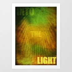 Into the Light Art Print