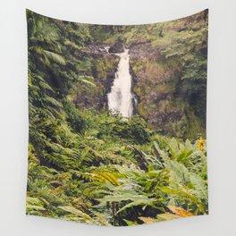 Jungle Waterfall III Wall Tapestry
