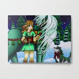 Christmas Artwork #1 (2018) Metal Print