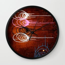 Laws of Attraction #2 Wall Clock