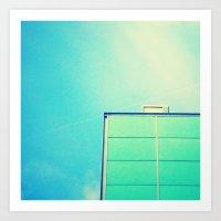 instagram Art Prints featuring Instagram by Olivier Morisse