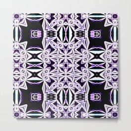 The Color Purple - Tribal Vibes Collection Metal Print