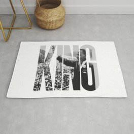 King - Martin Luther Rug