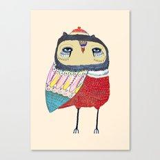 Sweet Owl. owl, owl art, owl print, owls Canvas Print