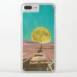 EVENING EXPLOSION II Clear iPhone Case