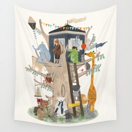 little playhouse Wall Tapestry