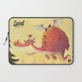 A Garotinha e o Dragão Laptop Sleeve