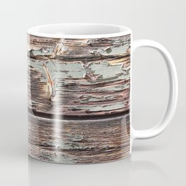 Aged Wood rustic decor Coffee Mug
