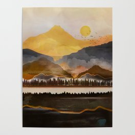 Pure Wilderness at Dusk Poster