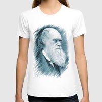darwin T-shirts featuring Charles Darwin by Zandonai