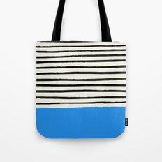 Ocean x Stripes Tote Bag