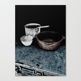 Haunted Cook Stove, Hell's Gate B.C. Canvas Print