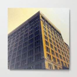 Of Brick & Mortar Metal Print