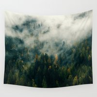 fog Wall Tapestries featuring Fog by EclipseLio