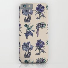 Botanical Florals | Vintage Blueberry iPhone 6s Slim Case