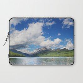 Paddleboarding in Glacier National Park Laptop Sleeve