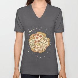 Pizza World Unisex V-Neck