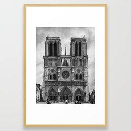 Notre Dame Cathedral Framed Art Print