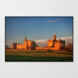 Walkworth Castle Canvas Print