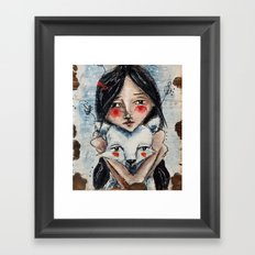 Aspen and Quilo Framed Art Print
