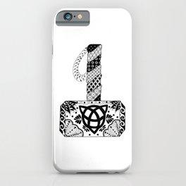 Mjolnir Mandala iPhone Case