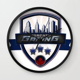 Toronto Gaming Wall Clock