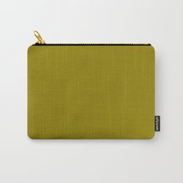 Olive Green Color Carry-All Pouch