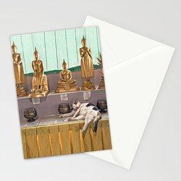 Big Buddha Cat - Thailand Stationery Cards